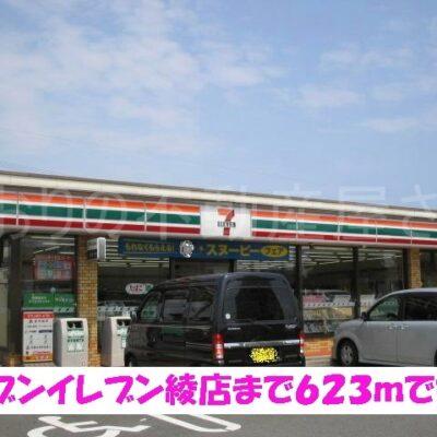 セブンイレブン綾店(周辺)