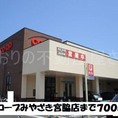 コープみやざき宮脇店(周辺)